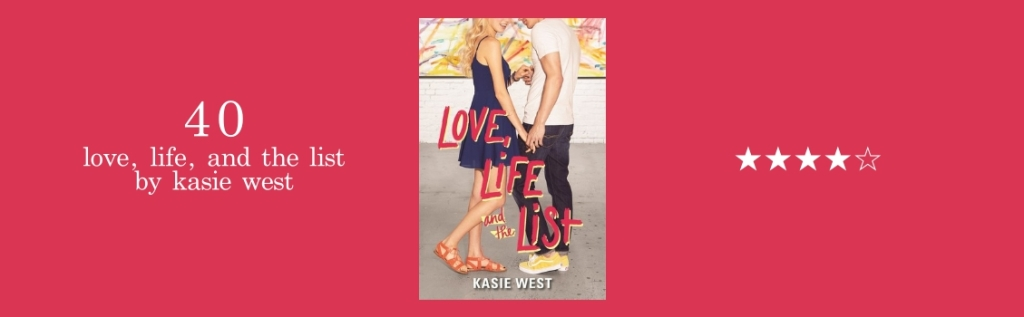 40-love life and the list